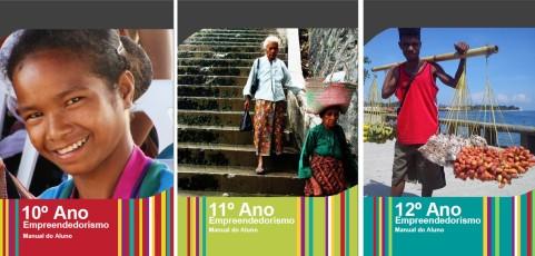 Nove mil estudantes timorenses com manuais de empreendedorismo!