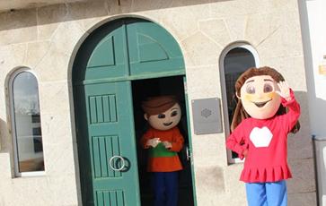 A Maria e o Gaspar em Tondela