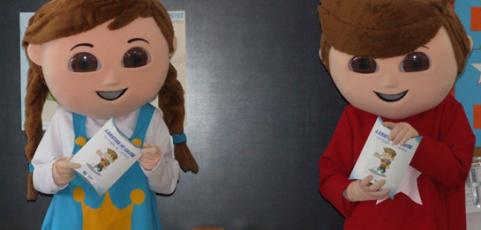 Empreendedorismo nas Escolas – Gaspar e Inês visitaram 1º CEB